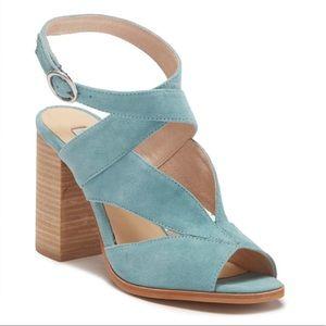 NWOT kristin cavallari x CL suede strappy heels 9
